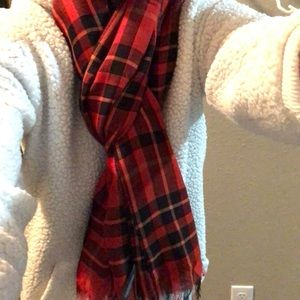 Brand new plaid scarf by the Limited.